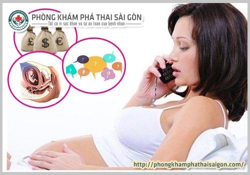 chi phí phá thai 3 tháng