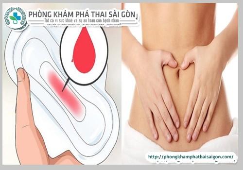 co-kinh-som-co-phai-mang-thai-khong