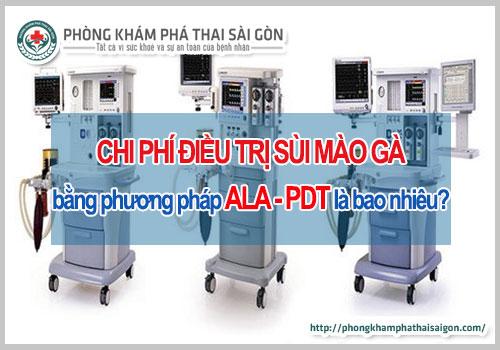 Chi phí điều trị bằng phương pháp ala pdt