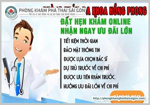 tư vấn trực tuyến về bệnh phụ khoa